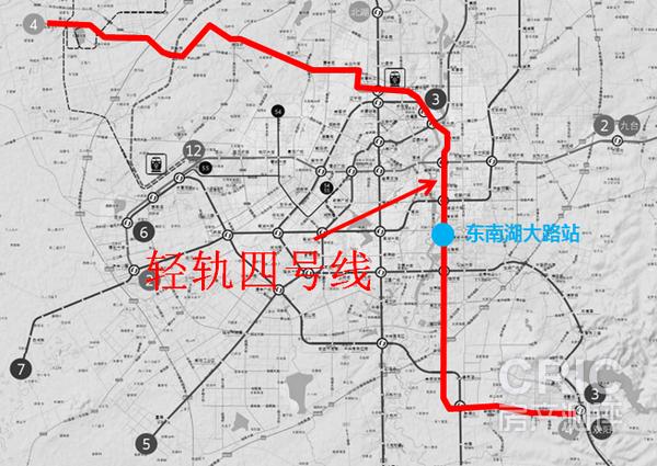 苏州轻轨2号线确切的路线图或者经过的站点名称,要确切的图片