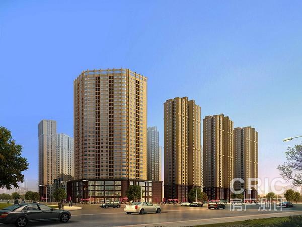 本项目高层建筑外立面采用现代风格设计