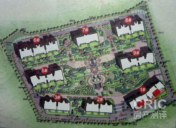 武汉 鼓楼 梅峰礼居   分析师点评 项目总共八栋楼,采用围合式布局,有图片