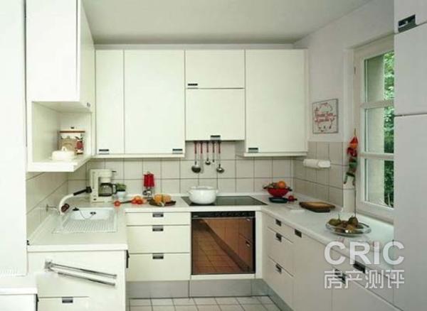 """u""字型橱柜要求厨房的宽度基本要超过1"